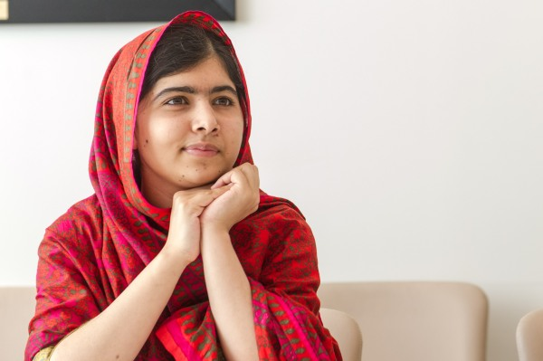 Malala rprior to meeting the DSG SG Meets Photo Opportunity: The Secretary-General and Ms. Malala Yousafzai Special Event: Interactive conversation to mark 500 Days of Action for the Millennium Development Goals (MDGs) Participants: The Secretary-General; The President of the General Assembly 68th session; Malala Yousafzai, Education Advocate and Co-founder of the Malala Fund; Amy Robach, News Anchor with ABCÕs Good Morning America.